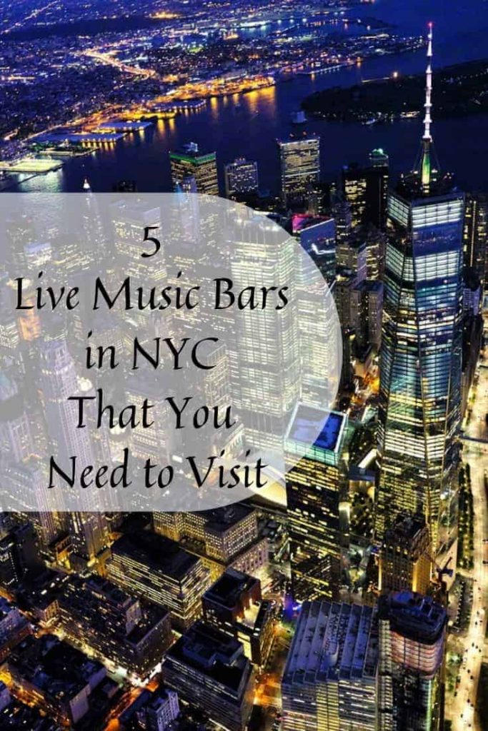 5 Live Music Bars in NYC That You Need to Visit