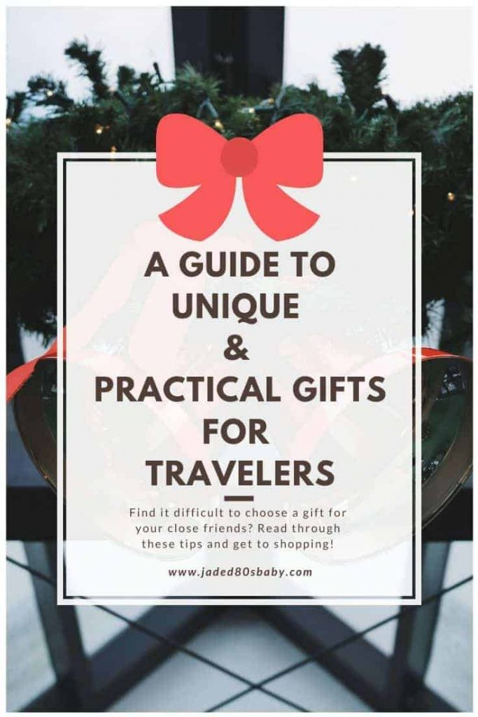 A GUIDE TO UNIQUE & PRACTICAL GIFTS FOR TRAVELERS - pin 2