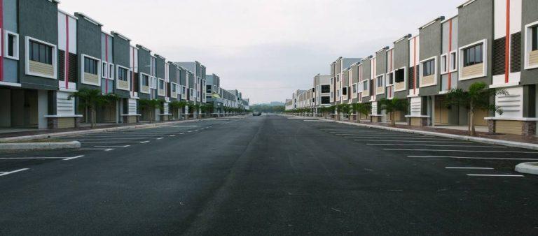 Empty city street - Travel