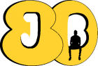 Jaded 80s Baby logo